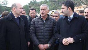Bakan Kurum, Antalya sel ve hortum felaketi bilançosunu açıkladı