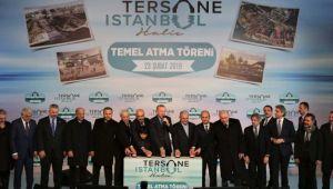 Tersane İstanbul projesinde temel atıldı