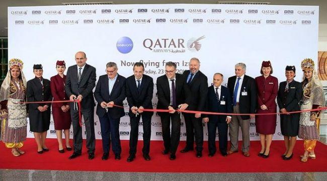 Doha ile İzmir arası direk uçuşlar başladı