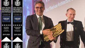 Dünya ile yarışan Türk mimara 4 ödül birden