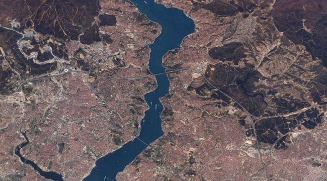 Milli uydudan ilk fotoğraf: Betonlaşan İstanbul