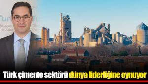 Türk çimento sektörü dünya liderliğine oynuyor