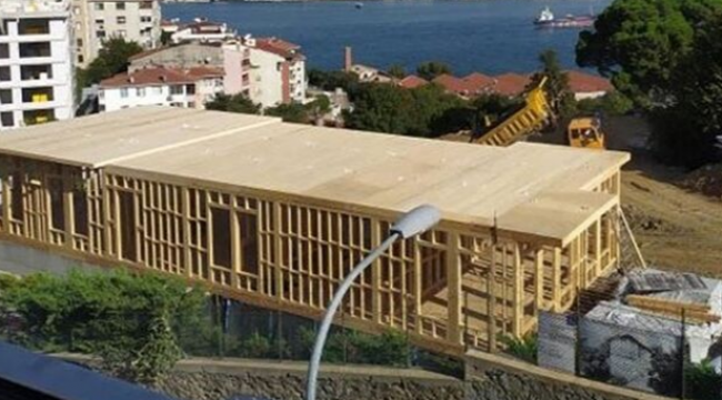 Mehmet Cengiz'in aldığı koruda usulsüz inşaat iddiası