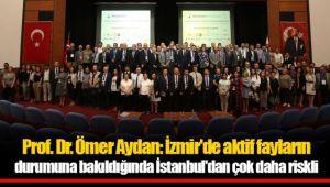 Prof. Dr. Aydan: İzmir'de aktif fayların durumuna bakıldığında İstanbul'dan çok daha riskli