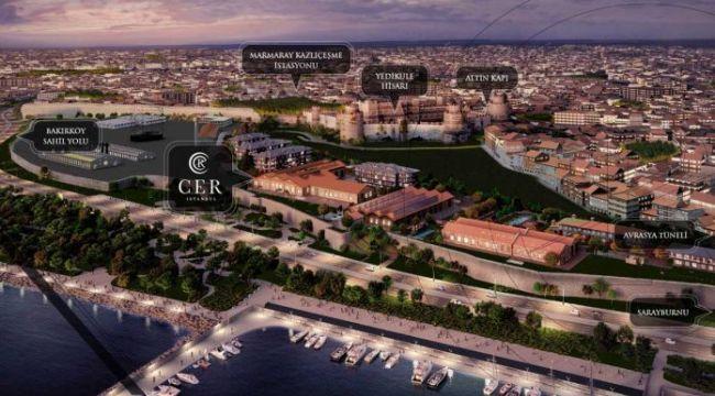 """Cer İstanbul'un """"Loft"""" dairelerinde fiyatlar belli oldu"""