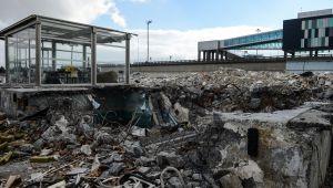 Atatürk Havalimanı kargo bölümünde yıkım tamamlandı