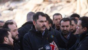 Çevre ve Şehircilik Bakanı Kurum: Elazığ'da 2 bin yeni konut yapılacak