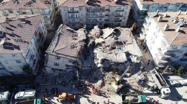 Elazığ depreminde yıkılan binalarla ilgili iki ayrı soruşturma başlatıldı