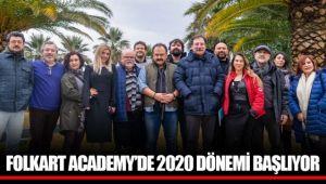 FOLKART ACADEMY'DE 2020 DÖNEMİ BAŞLIYOR