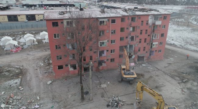 Elazığ'da kentsel dönüşüm çalışmaları