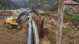 Erdoğan'ın memleketinde 'yol inşaatı' denilen çalışma HES projesi çıktı, şikayet üzerine inşaat durduruldu