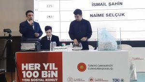 100 bin sosyal konut projesinde Ankara'da konutlar sahiplerini buluyor