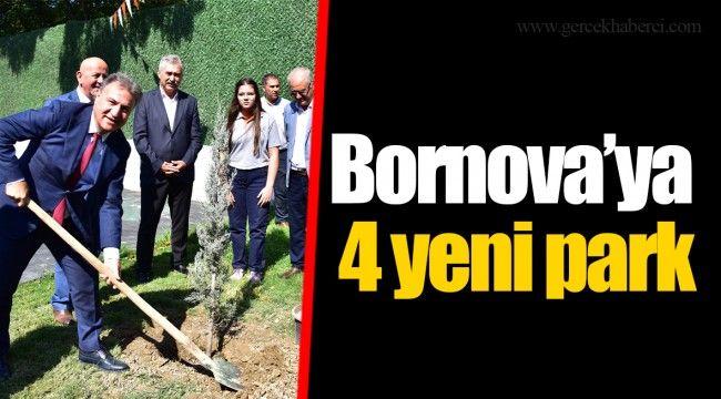Bornova'ya 4 yeni park