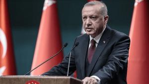 """Cumhurbaşkanı Erdoğan: """"Kentsel dönüşümün yükünü hep birlikte paylaştığımızda kısa sürede temel sıkıntıları çözebiliriz"""""""