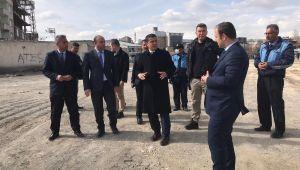 Erciş'te 'Millet Bahçesi' çalışması