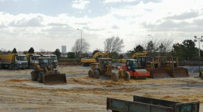 Atatürk Havalimanı'nda hastane inşaatı başladı