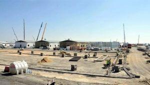 Atatürk Havalimanı'ndaki hastanenin çatı ve duvarları ortaya çıktı