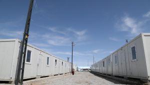 Başkale'de konteyner kente yerleşim başladı
