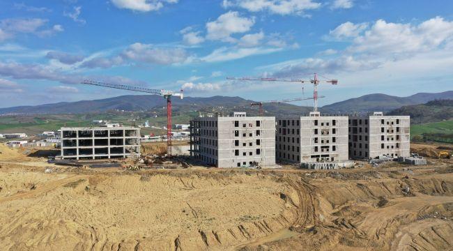 Birinci derece deprem bölgesi Yalova'ya hareket eden hastane