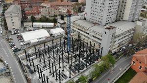 İstanbul Tıp Fakültesi'nde yeni binaların yapımı devam ediyor