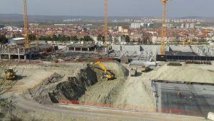 Kütahya Şehir Hastanesi inşaatı hızla devam ediyor