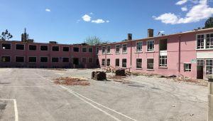 Sümer İlkokulu yıkım çalışmaları başladı