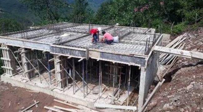 Ordu'da afetzedeler için 59 konut inşa ediliyor