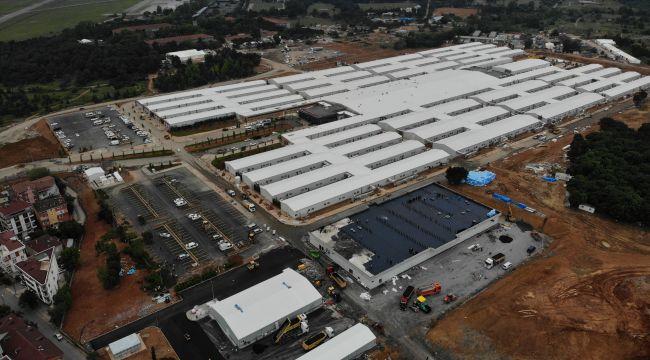 Sancaktepe pandemi hastanesi açılış için gün sayıyor