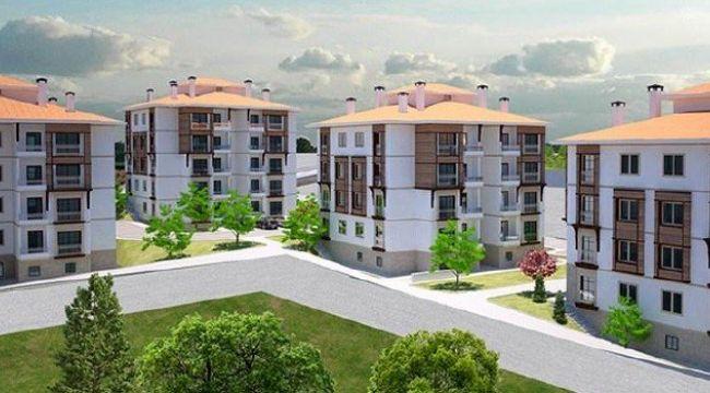 TOKİ 100 bin sosyal konut projesinin inşaatı başladı