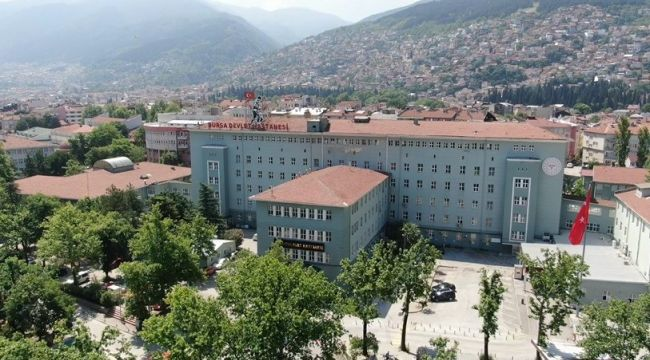 Bursa Devlet Hastanesi aslına uygun mimariyle yeniden inşa ediliyor