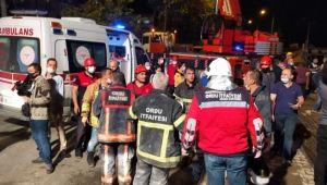 Ordu'da otel inşaatında göçük: 1 ölü, 8 yaralı