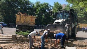 Kapadokya'da kaçak yapıların yıkımına geniş güvenlik önlemleri altında başlandı