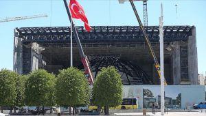 Yeni AKM inşaatının yüzde 57'si tamamlandı