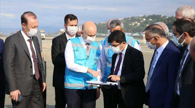 Bakan Karaismailoğlu: Rize-Artvin Havalimanı bölgeye büyük katkılar sağlayacak