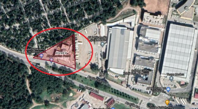 Buca Belediyesi'nde 36 Milyon TL'ye Satılık Akaryakıt İstasyonu ve Arsası