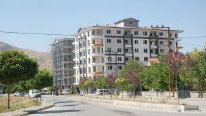Güroymak'ta bina yapımı artarak devam ediyor