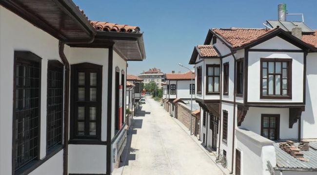 Konya'da tarihi evler 'kentsel dönüşüm' ile yaşatılıyor