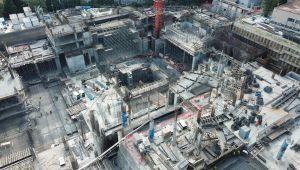 Yeni AKM'nin inşaatında son durum