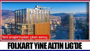 FOLKART YİNE ALTIN LİG'DE