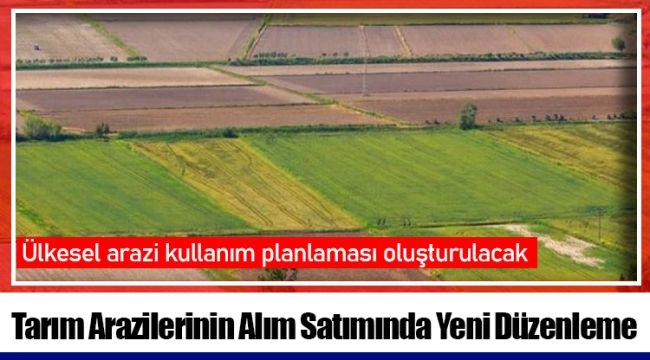 Ülkesel arazi kullanım planlaması oluşturulacak