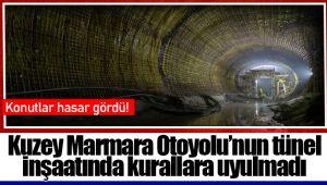 Kuzey Marmara Otoyolu'nun tünel inşaatında kurallara uyulmadı, konutlar hasar gördü!