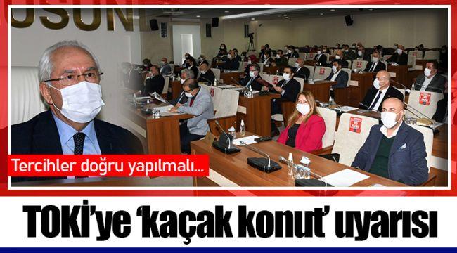 TOKİ'ye 'kaçak konut' uyarısı
