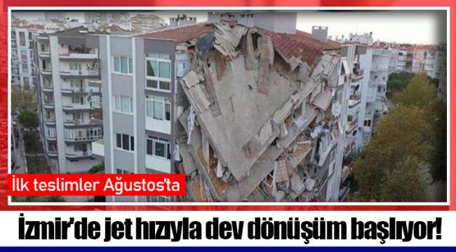 İzmir'de jet hızıyla dev dönüşüm başlıyor!