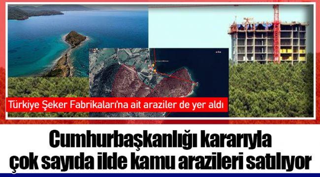 Cumhurbaşkanlığı kararıyla çok sayıda ilde kamu arazileri satılıyor