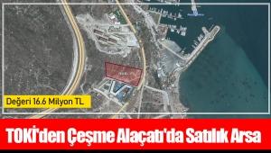 TOKİ'den Çeşme Alaçatı'da satılık arsa