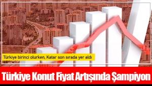 Türkiye Konut Fiyat Artışında Şampiyon...