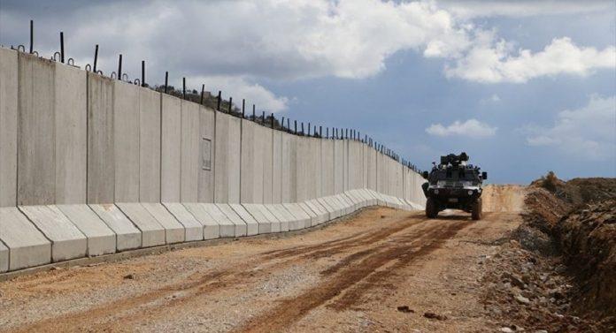 TOKİ Suriye Sınırı Duvar Projesi İçin Sona Yaklaştı